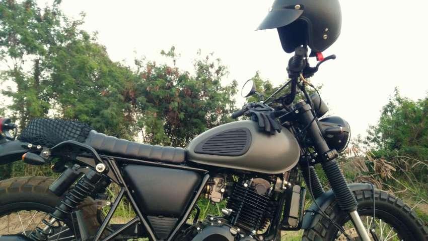 Stallions Centaur 250cc Max – Custom Scrambler
