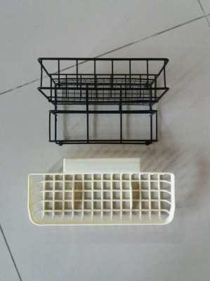 Compact Utensil Drainer Stand & Utensil