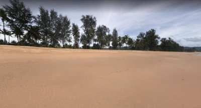 Beach Front Land For Sale 277-1-69 Rai, Khuekak Beach,Takhua Pa, Phang