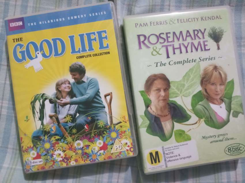 Felicity Kendall - Two original boxed sets for you to swoon over!