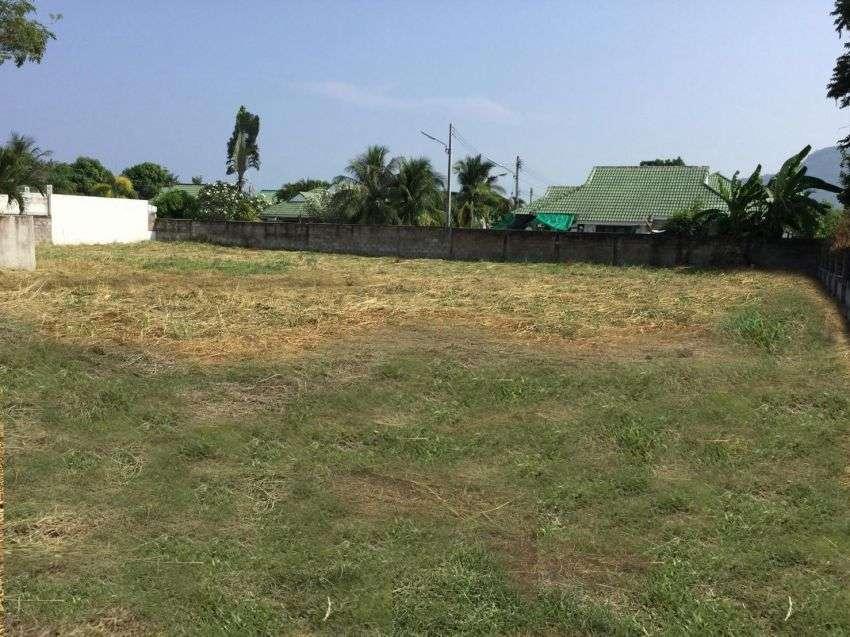 Land for sale soi 102 Hua hin