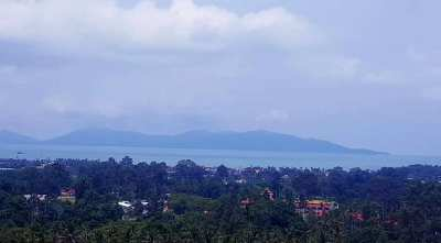 For sale sea view land in Bophut Koh Samui - 4800m²