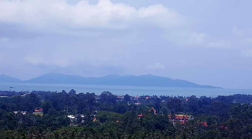 For sale sea view land in Bophut Koh Samui - 4800m²