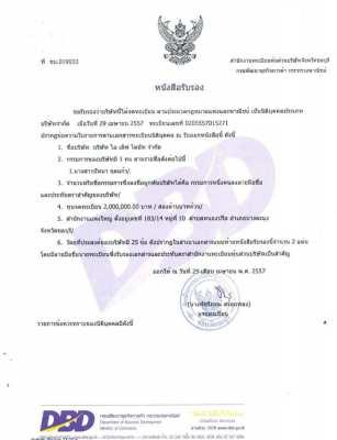 Thai Co., Ltd. Registered Business Company for Sale