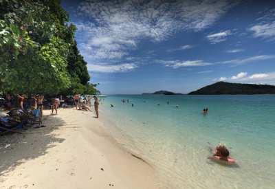 Beach Front Land For Sale 275 Rai Big Rang Yai Island, Phuket.