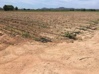Land for sale with lake 41 rai Hua hin (by pass)