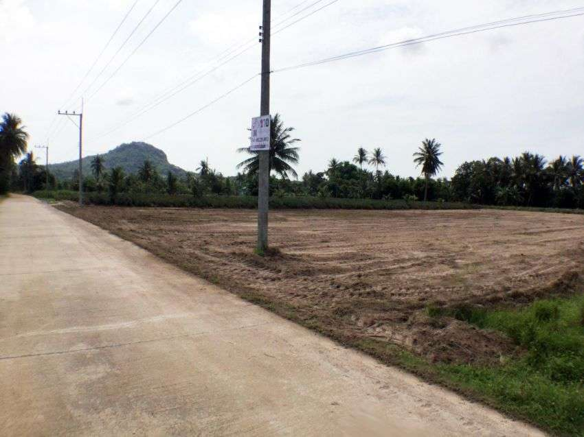 Land for sale 2 rai soi 112 Hua hin