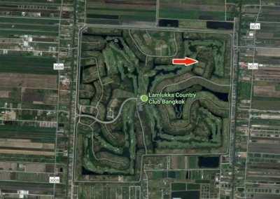Sale plot 2 rai in Lam luk ka country club golf Bangkok