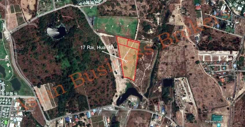 5007032 17 Rai Land near Black Mountain Golf Resort in Hua Hin