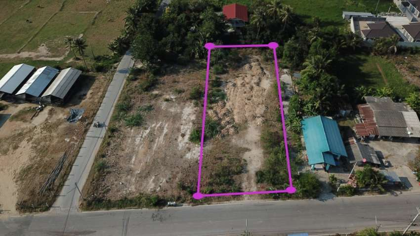 Land 1 rai for sale in Cha am