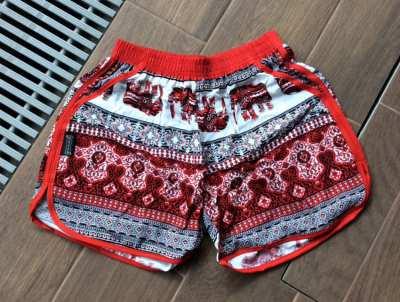 Elephant shorts, comfy shorts, rayon shorts, pajamas shorts,