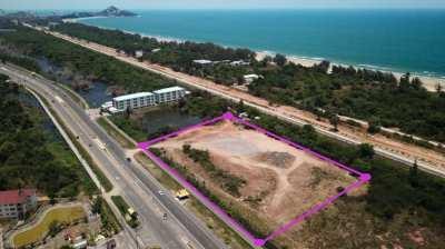 Land 15 rai 333 T.w. (25332 m²) for sale in Hua Hin on Phetkasem Road