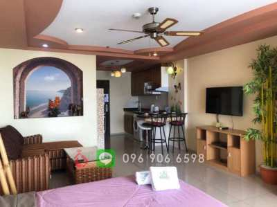 Hot Offer | For Rent | Spacious Studio | View Talay 7 (Jomtien Beach)