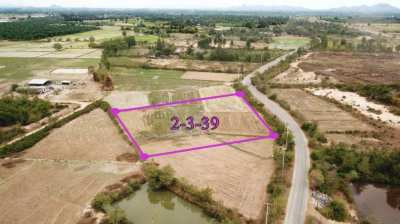 Land 2 rai 339 T.w for sale in Pranburi