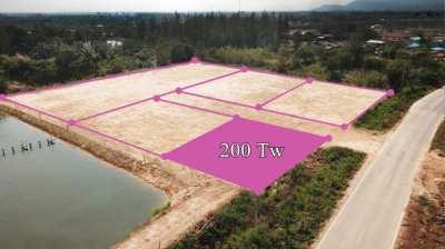 Plot 200 T.w. for sale in Pranburi