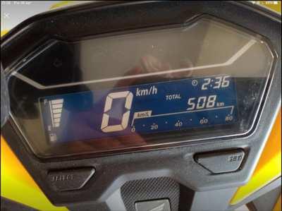 Honda click 125 cc.brand New Years 2020 ride only 508 km. Good price .