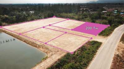 Plot 200 T.w. for sale in Pranburi