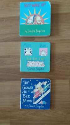 KIDS Going to Bed Book-Hey! Wake Up!-Moo, Baa, La La La-sandra boynton