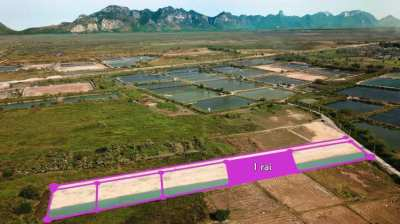 Plot of land 1 rai for sale in Pranburi