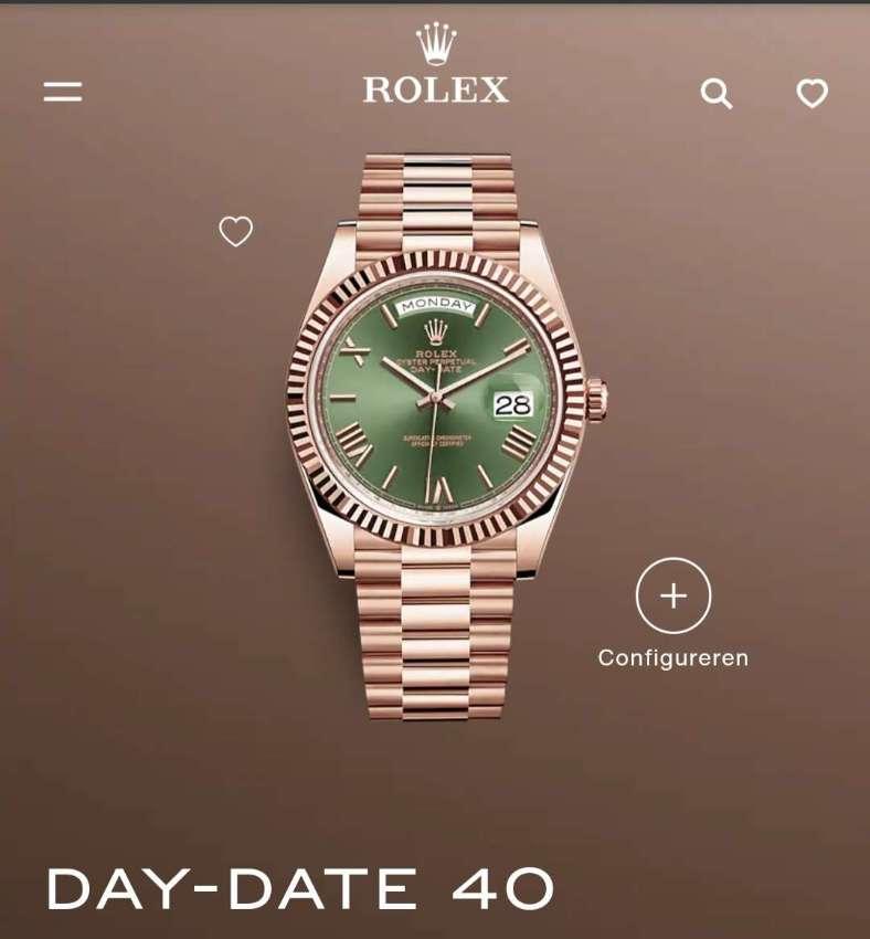 Rolex Day Date Everrose