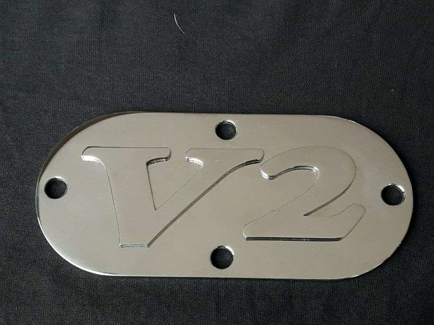 FOR HARLEY DAVIDSON SOFTAIL PRIMARY COVER 3D STAINLESS STEEL SUPER !!!