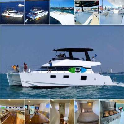 Brand New Charter Catamaran for Half day, Full day and Overnight trips