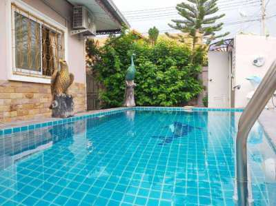 13,000/month 2ิฺBeds 1Baths Pool Villa In Bang Saray