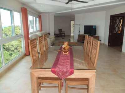 NOW RENTED  Sea View Large 2 Bedroom Pratumnak Condo 127sqm