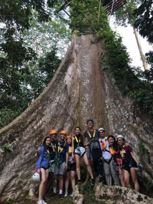 Adventure tourist activity