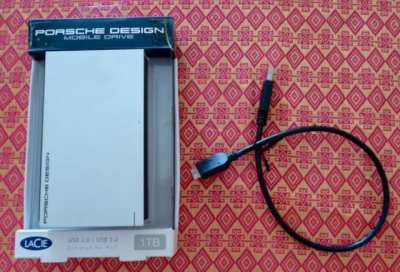 LeCie Porche Design 1TB External Drive