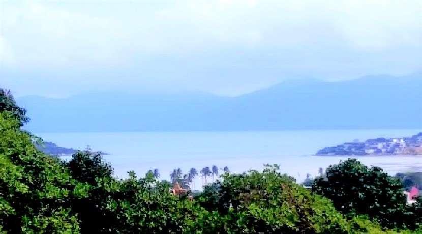 For sale land sea view in Plai Laem Koh Samui - 3.084m²