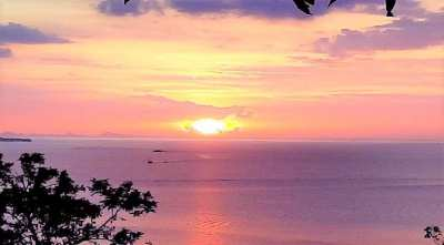 For sale sea view lands in Plai Laem Koh Samui 356m² to 582m²