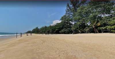 *Beach Front Land For Sale 55 Rai, Natai Beach, T. Kokkloi, Phang Nga.