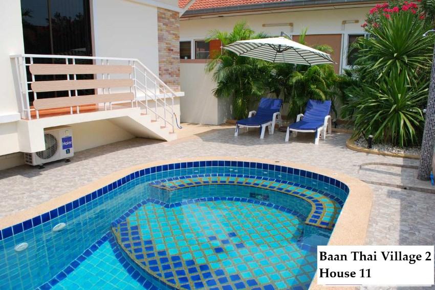 Pool Villa for rent in Baan Thai Village 2, Hin Lek Fai, Hua Hin
