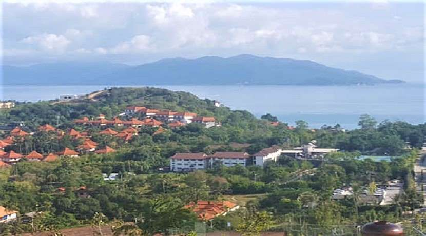Land sea view for sale in Plai Laem Koh Samui - 1500m²