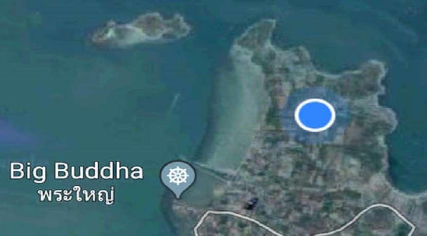 Land sea view for sale in Plai Laem Koh Samui - 1500m²