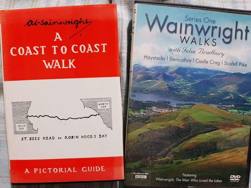 A Wainwright A Coast to Coast Walk plus Wainwright Walks Series One DV