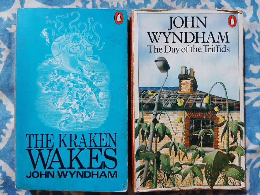 The Day of the Triffids and The Kraken Wakes by John Wyndham
