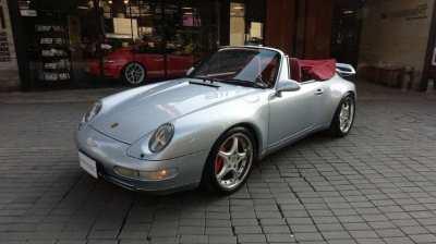 PORSCHE 911 CARRERA CABRIOLET (993) LHD