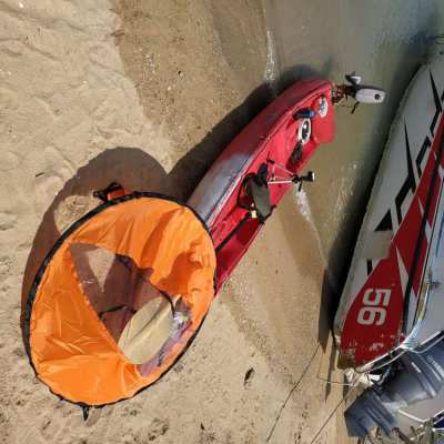 Yamaha 2hp 2str , Badass Kayak for sale