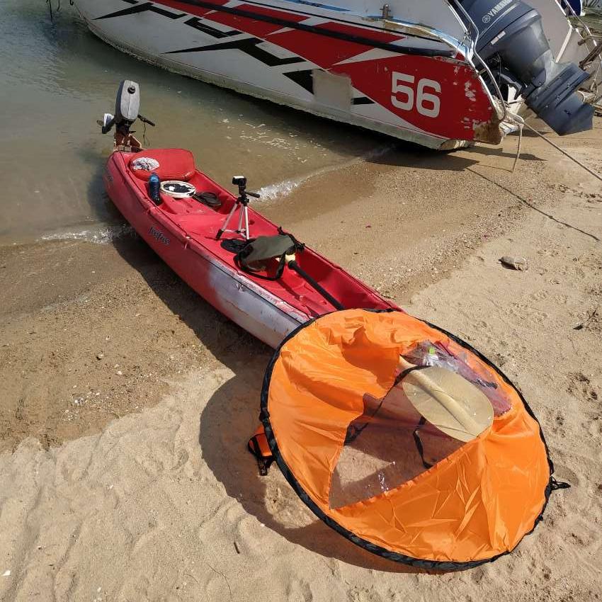 Yamaha 2hp 2str , Badass Kayak for sale