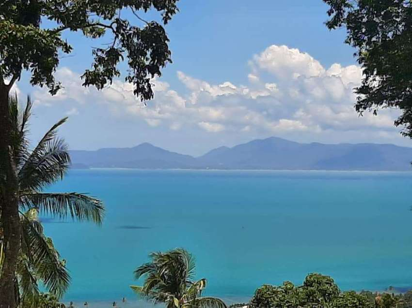For sale sea view land in Bang Por Koh Samui - 2310 sqm