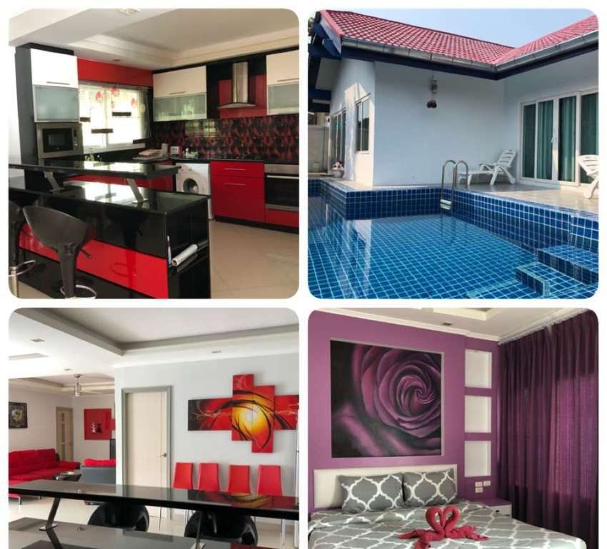 3 bedroom villa for rent in Jomtien