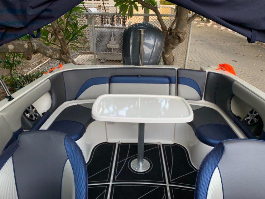 YamahaF 225hp CRUISE CRAFT R6 with c12V Fridge