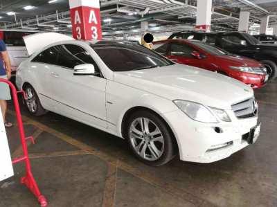 2011 Benz E200 CGi coupe white