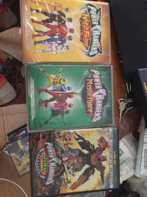 Power Rangers 3 complete seasons