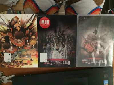 Attack on Titan. Season One and The Movies parts 1 & 2