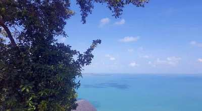 For sale sea view lands in Coral Cove - Chaweng Noi Koh Samui