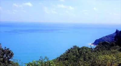 For sale sea view land in Crystal Bay - Chaweng Noi - Koh Samui
