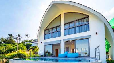 For sale sea view villa in Chaweng Noi Koh Samui
